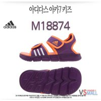 Genuine AD 14SU 07 stores Adidas Red M18874 Junior Kids Velcro sandals summer shoes for kids youth velcro Water