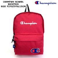 Tas Import Backpack Champion School Backpack - Red