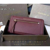 dompet branded wanita wallet charles and keith original