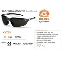 Kacamata Safety KING'S KY 712 Smoke Lens