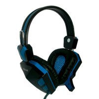 Rexus F22 Headphones/Headset Game biru