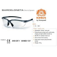 Kacamata Safety KING'S KY 711 Clear Lens