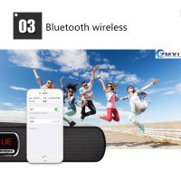 Bluetooth Speaker MBOX S605 Dock Portable Mini Bass Cannon 3D
