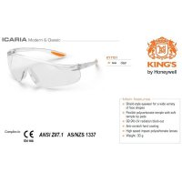Kacamata Safety KING'S KY 1151 Clear Lens