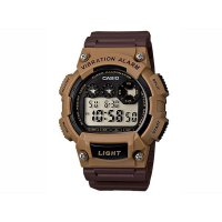 Jam Tangan Pria Digital Sports Casio Original Vibration Alarm W-735H-5