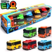 [Little Bus Ride 5P] Little Bus Ride Bus Ride toys set of 5 miniature cars toys / kid Bus Ride Ride