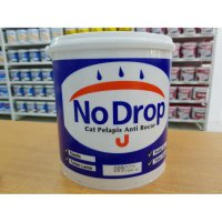 Super Diskon CAT TEMBOK NO DROP WATERPROOF (4 KG) /PELAPIS BOCOR NO DROP 4 KG GALON Termurah