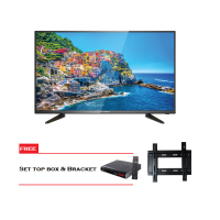 ICHIKO Televisi LED 48inch Full HD 2K Basic S4898 Free Set Top Box dan Bracket