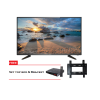ICHIKO Televisi LED 55inch Full HD 2K S5588 Free Set Top Box DVB T2 & Bracket
