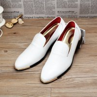 Fashion Mens Crocodile Grain Dress Shoes Casual Men Loafers Embossed Genuine Leather Shoes Men Flats Slip on Wedding Party Shoe