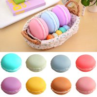 1pc Earphone SD Card Macarons Bag Big Storage Box Case Carrying Pouch