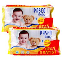 Paseo Baby Wipes 50s / Tissue Basah