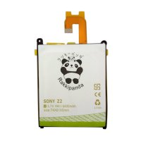 BATTERY BATERAI DOUBLE POWER DOUBLE IC RAKKIPANDA SONY XPERIA Z2 / XPERIA Z 6400mAh