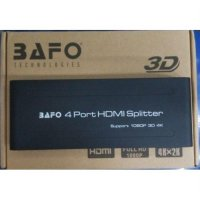 HDMI Splitter Bafo 4 Ports HDMI Splitter (1 to 4)