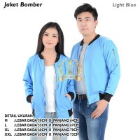Bomber Jaket (Light Blue)