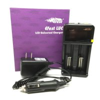 BEST Battery / Baterai Charger LCD Efest LUC V2 Universal 2 Slots Universal