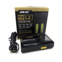(Dijamin) Golisi L2 Digital Charger [Authentic] Universal Charger Batre Baterai