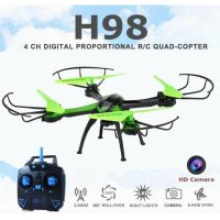 JJRC H98 2.4GHz 4CH RC Quadcopter Drone dengan 0.3MP Kamera Headless M