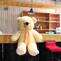 Boneka Teddy Bear Cream Jumbo