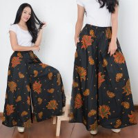 Cj collection Celana kulot batik rok panjang wanita jumbo long pant Greta