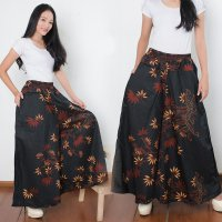 Cj collection Celana kulot batik rok panjang wanita jumbo long pant Fabiola