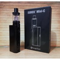 Vapor / Vape Kangertech Subox Mini-C AUTHENTIC Vaporizer minic black