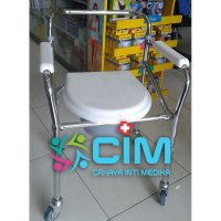 LIMITED Commode Wheel Chair FS-696 - GEA (Roda)