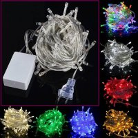 [globalbuy] Led String STRIP 100LED 10m Decoration Light for Christmas Xmas led Party Wedd/4440592