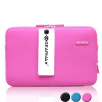 Original GEARMAX PREMIUM GM1701 15.4 Inch Classic Lycra Fabric Laptop Sleeve Case Bag for Notebook