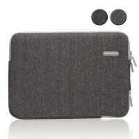 Original GEARMAX PREMIUM GM1705 15.4 Inch woolen Herringbone Laptop Sleeve Case Bag for Notebook