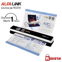 Alfalink izziscan Portable Scanner AS 1214