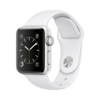 Apple Watch Series 2 Aluminum Silver White Sport Band 38MM