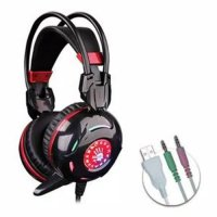 A4tech Bloody G300 - Headset Combat Gaming - Putih