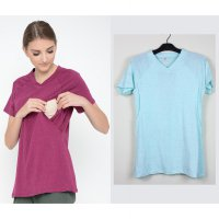 Just Mom Baju Menyusui Elena Mint Green
