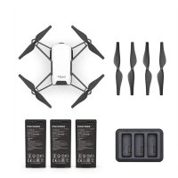DJI Tello Boost Combo Drone With 5MP HD Wifi Camera FPV Quadcopter - Hitam Putih