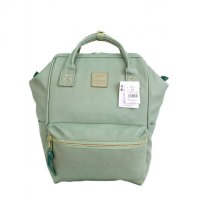 Anello Original Backpack PU Leather Medium - Matcha