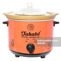 Takahi Slow Cooker 1.2 L - Red