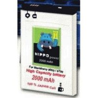 Hippo Power 2000mAh Battery for BlackBerry Bold, Onyx