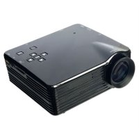 Mini Portable Projector Proyektor LED 400lm With Analog TV Receiver And SD Card Support 320x240px - VS320