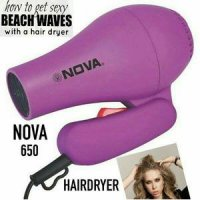 hairdryer NOVA pengering rambut hair dryer nova 650