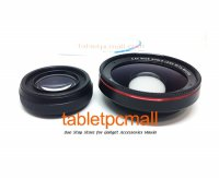 Lensa Wide Angle HD 0.6x with Macro 2in1 Optical Lens f