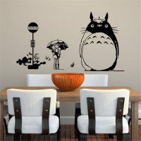 [globalbuy] New Dragon And Cat Wall Stickers For Kids Fashion Rooms Home Decorations 2016 /4420228