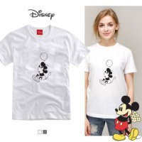 Paul and Paul Paul and Paul Balloons Mickey round short sleeve unisexf from to korea fashion style