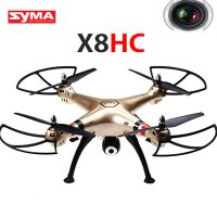 Quadcopter Syma X8HC with 2.4G 4CH Camera Automatic Hover And Headless Mode - GOLD