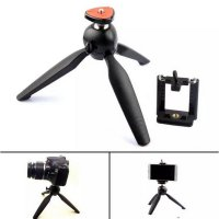 (Limited Offer) Mini Tripod Yunteng YT-228 Ori tripot tongsis holder kamera atau Hp