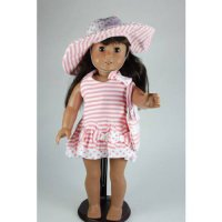[poledit] Unique Doll Clothing Beautiful Sundress for 18` Including The American Girl Line/12243278