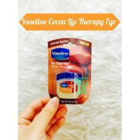 [ 7 gram ] Mini Vaseline COCOA BUTTER Lips Therapy for soft pink lip