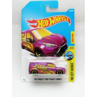 Hotwheels Ford Transit Connect - Pizza - Ungu