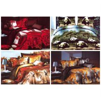 Rosewell Microtex Disperse Bedcover + Sprei 160x200