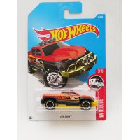 Hotwheels Off Duty - oranye